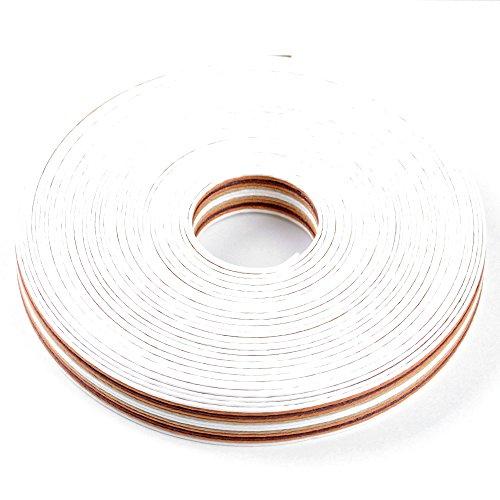 手芸用 エコ クラフトテープ 村のオルガン 10m巻 幅15mm 12芯 紙 バンド テープ 日本製