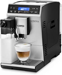 De'Longhi Autentica Cappuccino - Cafetera Superautomática, Depósito para Leche, Espumador de Leche, Recetas Automáticas, P...