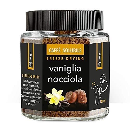 Caffè solubile con Vaniglia & Nocciola - Vaso in vetro da 50g
