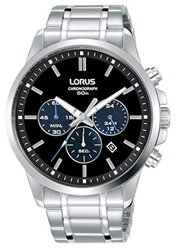 Lorus Sport Man Reloj para Hombre Analógico de Cuarzo con Brazalete de Acero Inoxidable RT317JX9