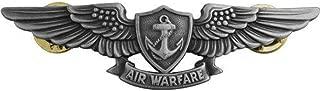 Navy Aviation Air Warfare Specialist Pin Oxidized Regulation Size
