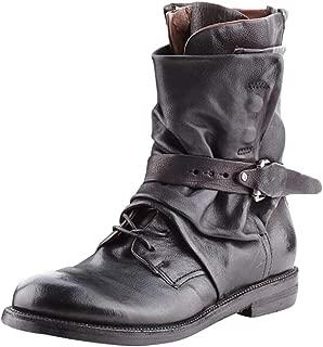 Zottom Chaussures pour Dames pour Femmes /Équitation Romaine Cowboy Demi-Bottes Fermeture /éclair Bottes mi-Mollet