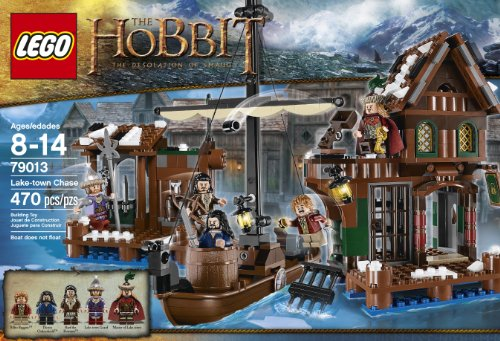 LEGO The Hobbit 79013 Lake-Town Chase Building Kit