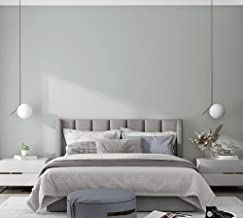 Vliesbehang effen kleur luxe damast, modern 3D reliëf behang rol woonkamer slaapkamer (gebroken wit 9,5 m L x 0,53 m W)