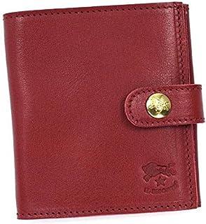 (イルビゾンテ) IL BISONTE レディース&メンズ レザー 二つ折り財布 [並行輸入品]
