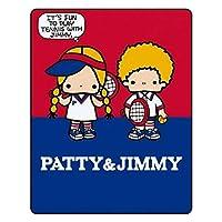 パティ&ジミーブランケット おしゃれ 毛布 膝掛け 肩掛け ひざ掛け 冷房対策 シングル アウトドア インテリア お昼寝 雑貨 洗濯可能 四季適用100×130cm