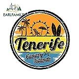 OLUYNG Sticker de Carro 13cm x 13cm para Tenerife Decalques Reparação De Viagem Selo Criativo Zero À Prova D' Água para JDM Carro Adesivos de Oclusão SUV RVStyle A