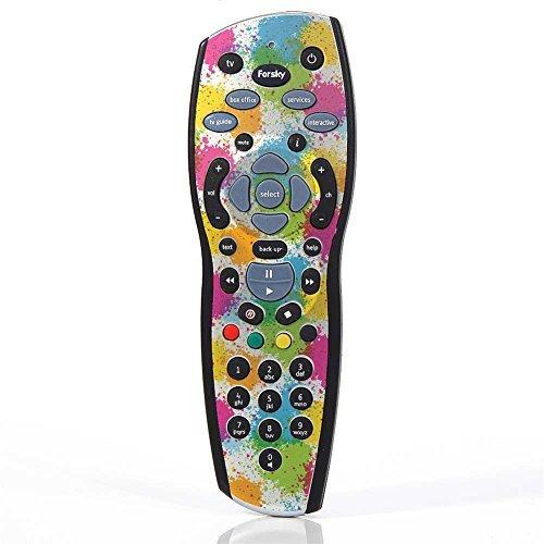 stika.co Peindre Splat Conception imprimé sur Vinyle Auto-adhésif pour Sky+ HD télécommande TV