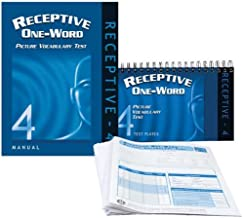 receptive one word picture vocabulary test manual