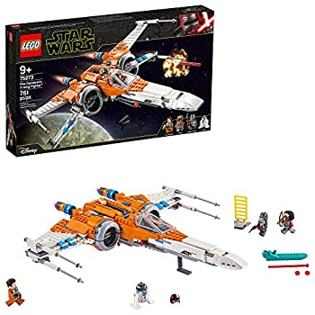 LEGO Star Wars Poe Dameron s X-Wing Fighter 75273 Building Kit Cool Construction Toy for Kids New 2020  761 Pieces