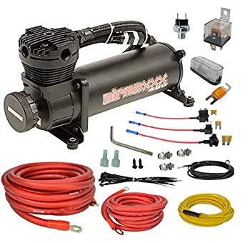 airmaxxx 480 Air Compressor & AVS Single Compressor Wiring Kit  Black
