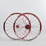 ZWB Juego De Ruedas De Freno De Disco 14/20/26 Pulgadas Juego De Ruedas De Bicicleta De Montaña Aleación De Aluminio Llanta De Ciclismo De Doble Pared Five Peilin 120 Ring Hub