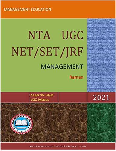 NTA UGC NET/SET/JRF: Management