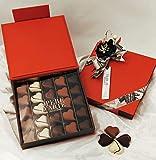Red box da 25 cioccolatini ~ 100% Made in Italy ~ Zanzibar Pasticceria