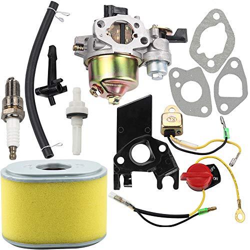 Dalom GX160 Vergaser w 17210-ZE1-505 Luftfilter Tune Up Kit für Honda GX140 GX 160 GX168 GX200 5HP 5,5 PS 6,5 PS Motor