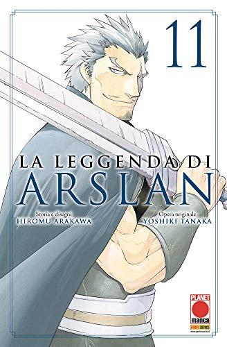 #MYCOMICS La Leggenda di Arslan N° 11 – Senki 13 – Planet Manga – Panini Comics – Italiano