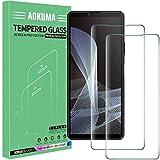 AOKUMA Cristal Templado Sony Xperia 10 III, [2 Unidades] Protector Pantalla para Sony Xperia 10 III Robusto Antiarañazos Antihuellas con Borde Redondeado Dureza 9H+ Antiburbujas