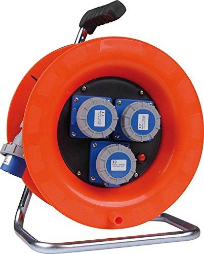 Enrollacables eléctrico industrial 30 m IP67 Sección cable 3 x 2,5 mm.