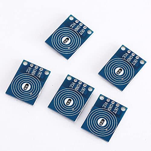 Weikeya Fácil de Instalar el módulo de Interruptor táctil, DC 5~20V -40~85 ℃ Módulo de atenuación del Tacto máximo máximo 10A Hecho de plástico