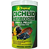 Tropical cich Lid Herbivore Small Pellet, 1er Pack (1x 1l)