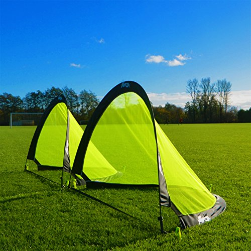 2pcs Flash Pop-Up Soccer Goals