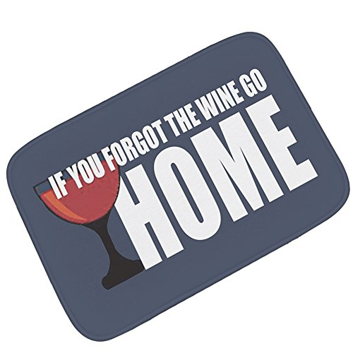 Duyifan Creatief tapijt, personaliseerbaar, voetmat, badmat, flanel, deurmat, absorberend, antislip, dik 40*60cm Vistoso