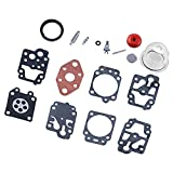 15pcs / Set Carburador Kit De Reparación Herramienta De Juego De Juntas De Reconstrucción De Carb para K20-WYL