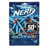Nerf - Pack de 50 Flechettes Nerf Elite 2.0 Officielles