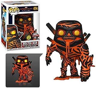 Funko Pop! Marvel: Spider-Man Far from Home - Molten Man Glow (Exclusive)
