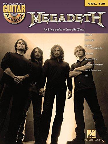 Hal Leonard Megadeth - Guitar Play-Along Volume 129 (Book/CD