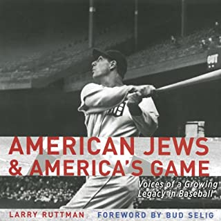 American Jews and America's Game audiobook cover art