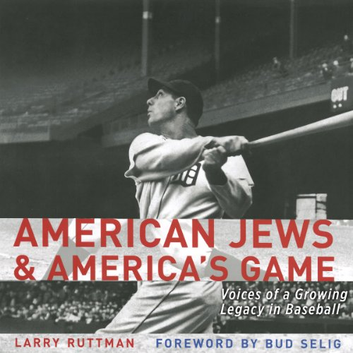 American Jews and America's Game cover art
