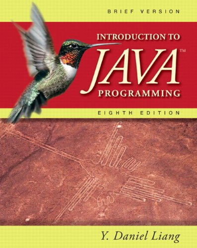 Introduction to Java Programming: Brief Version