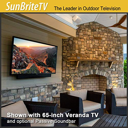 SunBriteTV - Televisión para Exteriores Resistente a la Intemperie | Veranda (2ª generación) 4K UHD HDR LED TV