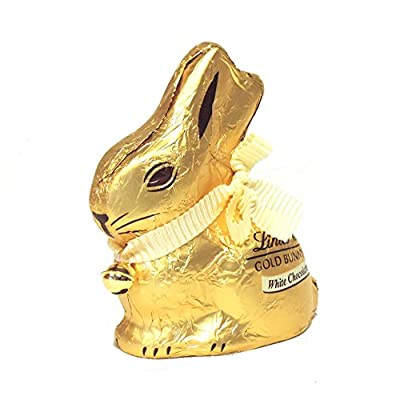 lindt white chocolate gold easter bunny 100g Lindt white chocolate gold Easter bunny 100g 51  gM6LkuL