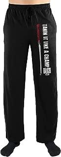 The Walking Dead Takin It Like A Champ Print Men's Loungewear Pajama pjs Pants