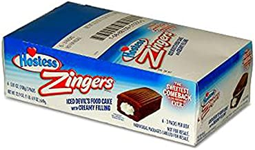 product image for Hostess Zinger Chocolate, 6 Count (CAKES & MUFFINS)