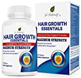 Hair Vitamins for Faster Hair Growth with 29 Vitamins for Women & Men - Hair Pills - Hair Vitamin Supplements for Hair Loss Treatments for Women & Men (90 Capsules)