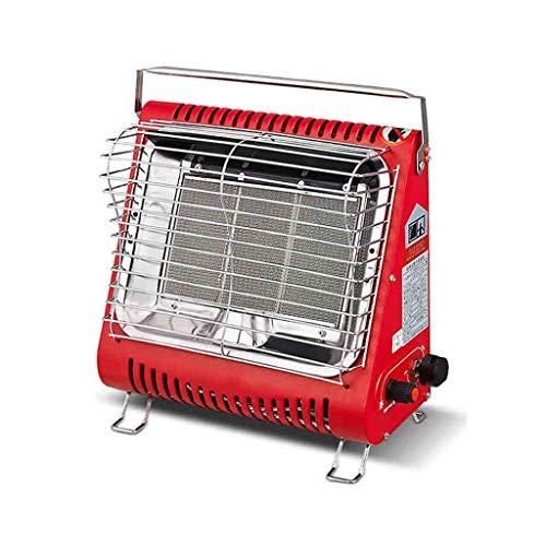 GAXQFEI Calentador de Gas Portátil Interior Y Al Aire Libre Estufa de Calefactores Multifunción Calentadores de Temperatura Ajustables,Gas Licuado