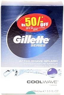 gillette series arctic ice aftershave splash