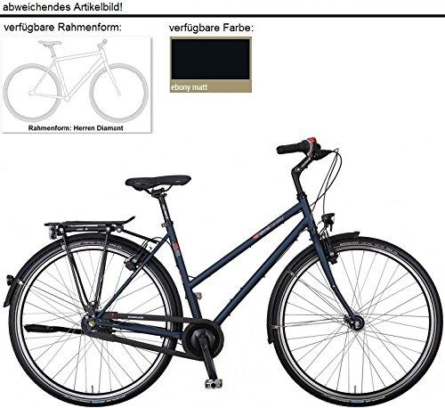 vsf fahrradmanufaktur T-300 8-G Nexus Premium FL Trekking Bike 2016 (Ebony Herren Diamant, 28