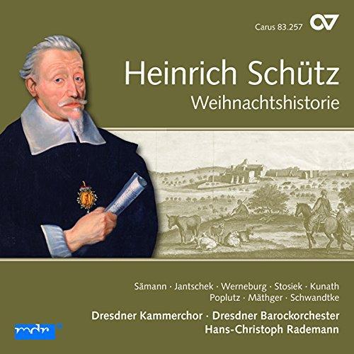 Schütz : Histoire de la Nativité. Sämann, Jantschek, Werneburg, Rademann.