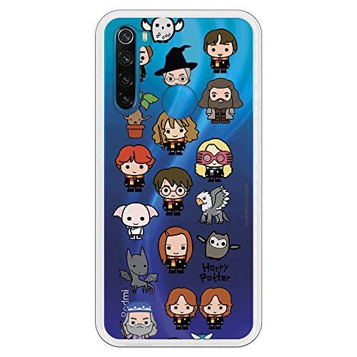 Custodia per Xiaomi Redmi Note 8 Ufficiale di Harry Potter Personaggi Iconi per proteggere il tuo cellulare Cover per Xiaomi in silicone flessibile con licenza ufficiale di Harry Potter.