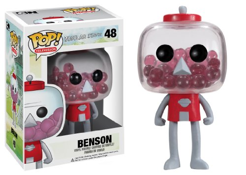 Funko POP Television Benson Regular Show Vinyl Figure