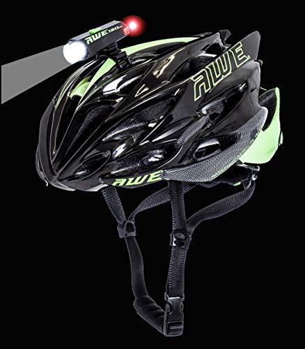 AWE AWEDual 360° Mega™ 150 Lumens USB Luce del Casco LED Anteriori/Posteriori
