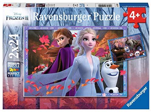 Puzzle Frozen 2, pack de 2 x 24 Piezas (05010)