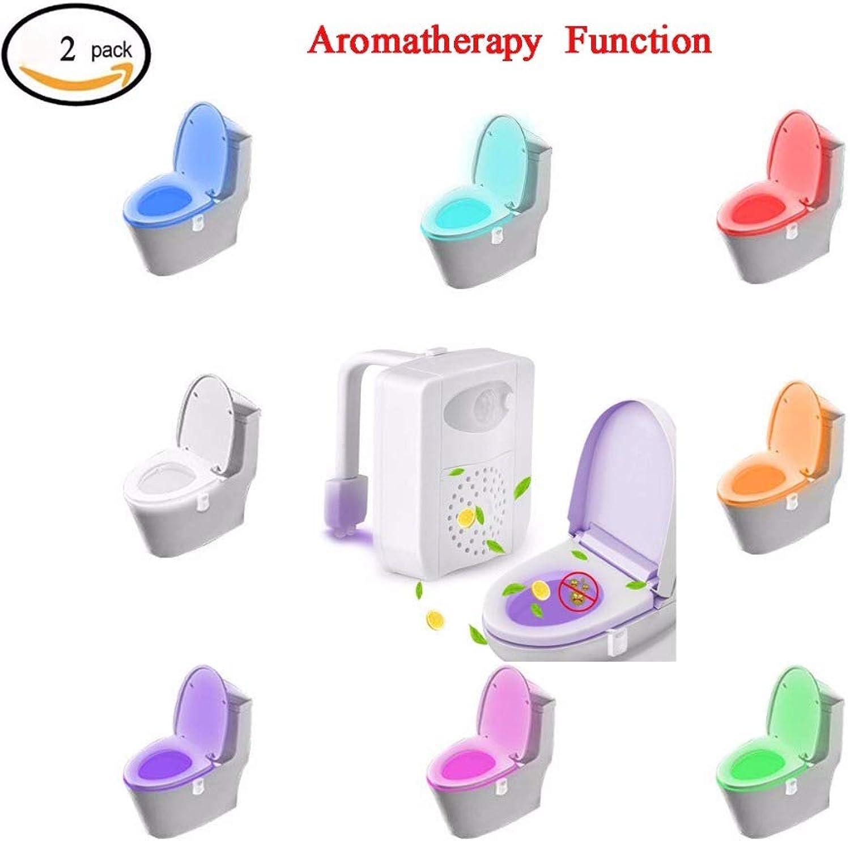 Bewegungsmelder Bunter Bewegungssensor Toilette Aromatherapie Nachtlicht Toilette Zu Hause Badezimmer Menschlicher Krper Auto-Bewegung Aktiviert