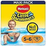 Huggies Little Swimmers Schwimmwindeln Gr.5/6 (12 - 18 kg), 1 Packung mit 19 Stück