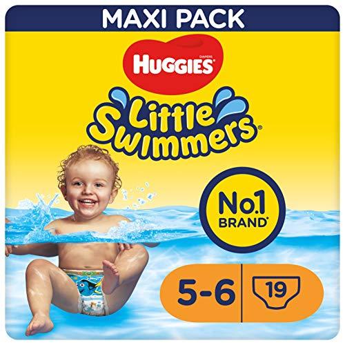 Huggies Little Swimmers Couches taille 5–6(12à18Kg), 1paquet de 19pièces