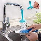 Weltime Evaluemart Adjustable Kitchen Splash Shower Faucet Sprinkler Head Nozzle Bathroom Tap Water-Saving Faucet Regulator Shower